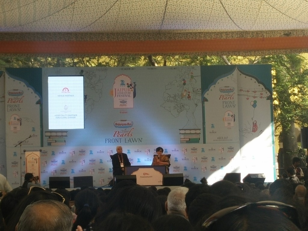 jaipur literature fest 2016 javed akhtar