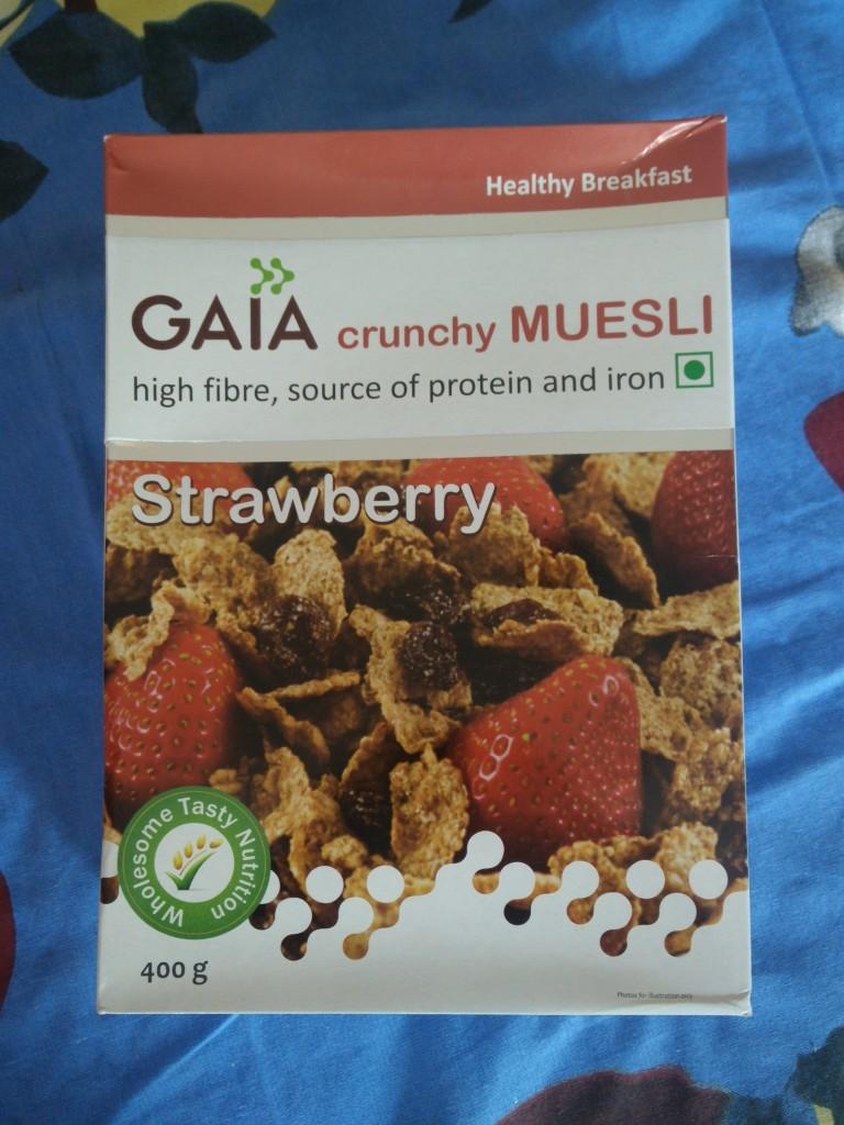 gaia good health muesli
