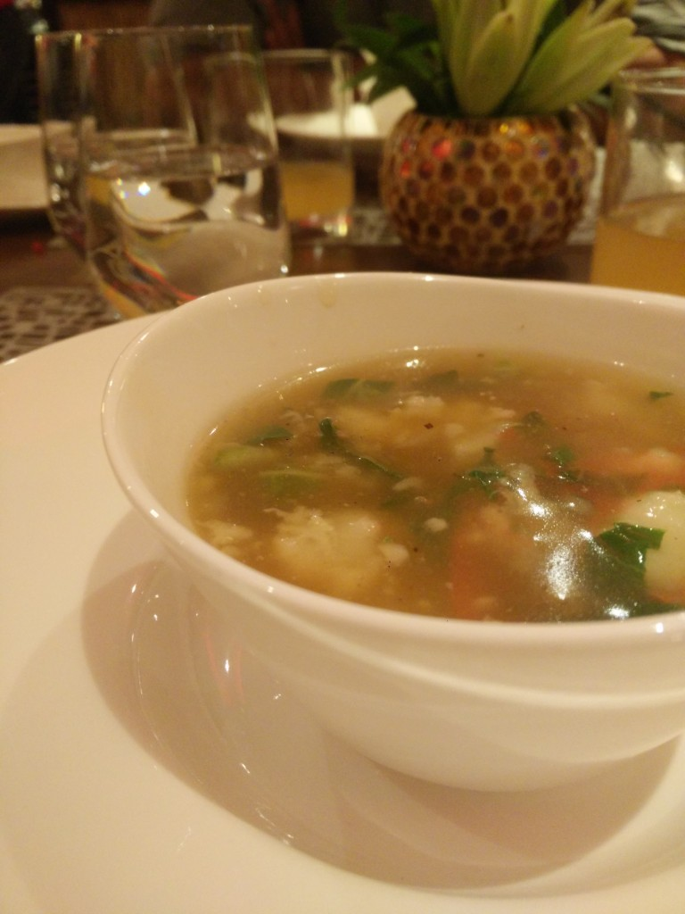 seafood soup united states of china food fest vivanta by taj.
