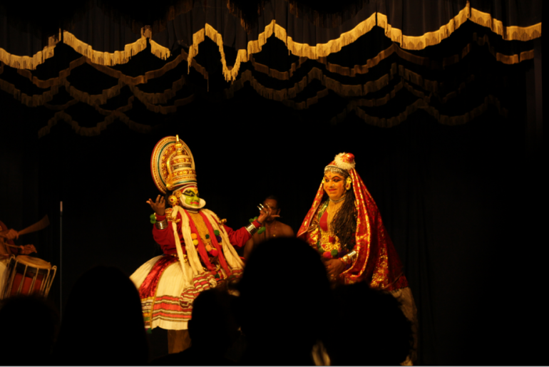 Went for a Kathakali performace on our first evening