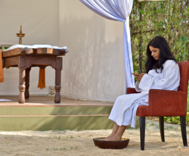 Have You Been To Pune's Only Open Air Spa?