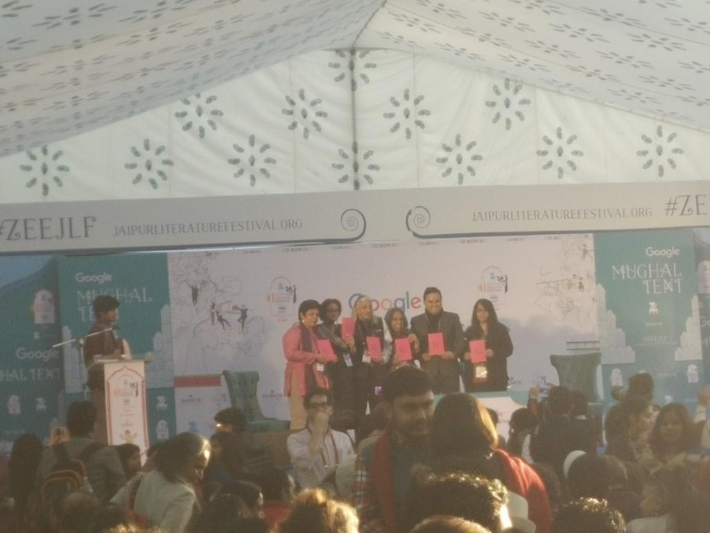 jaipur literature fest 2016 book launch jlf conversations