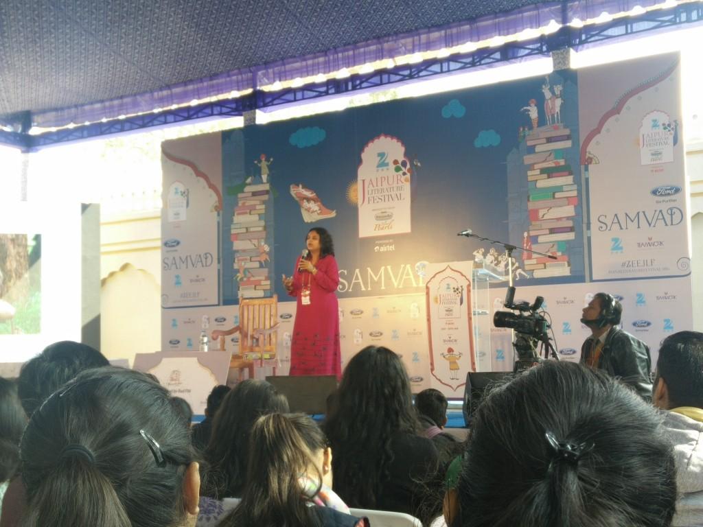 jaipur literature fest 2016 rashmi bansal