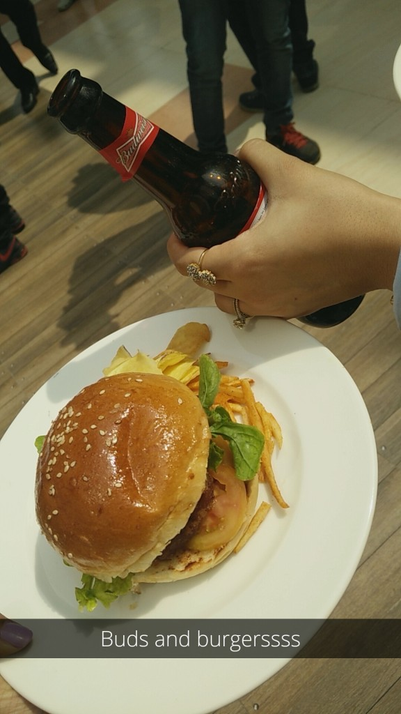 buds and burgers