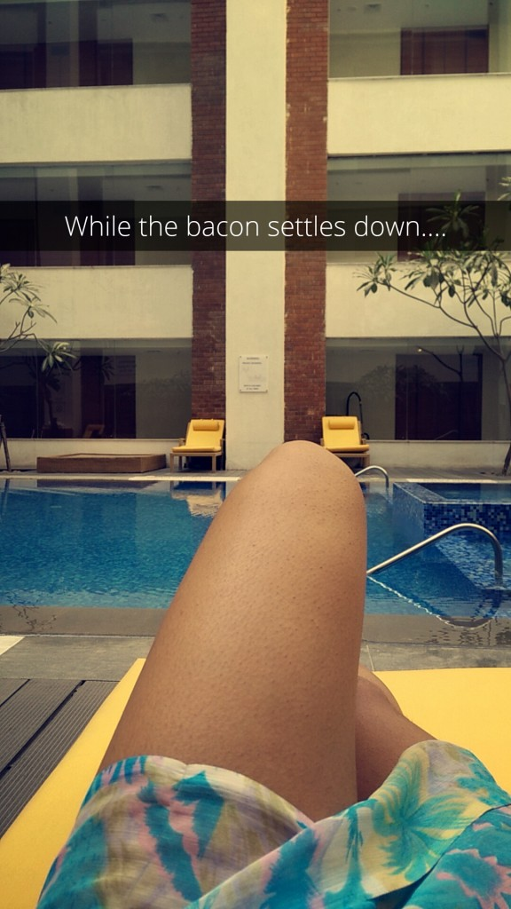 budweiser sensation hyderabad 2016 by the pool