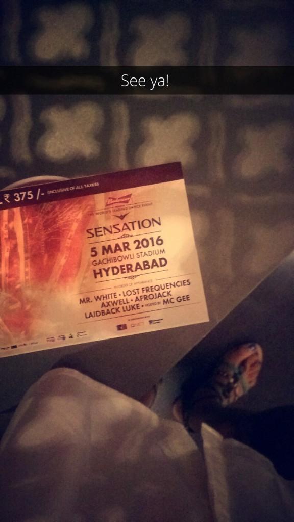 budweiser sensation hyderabad 2016 tickets