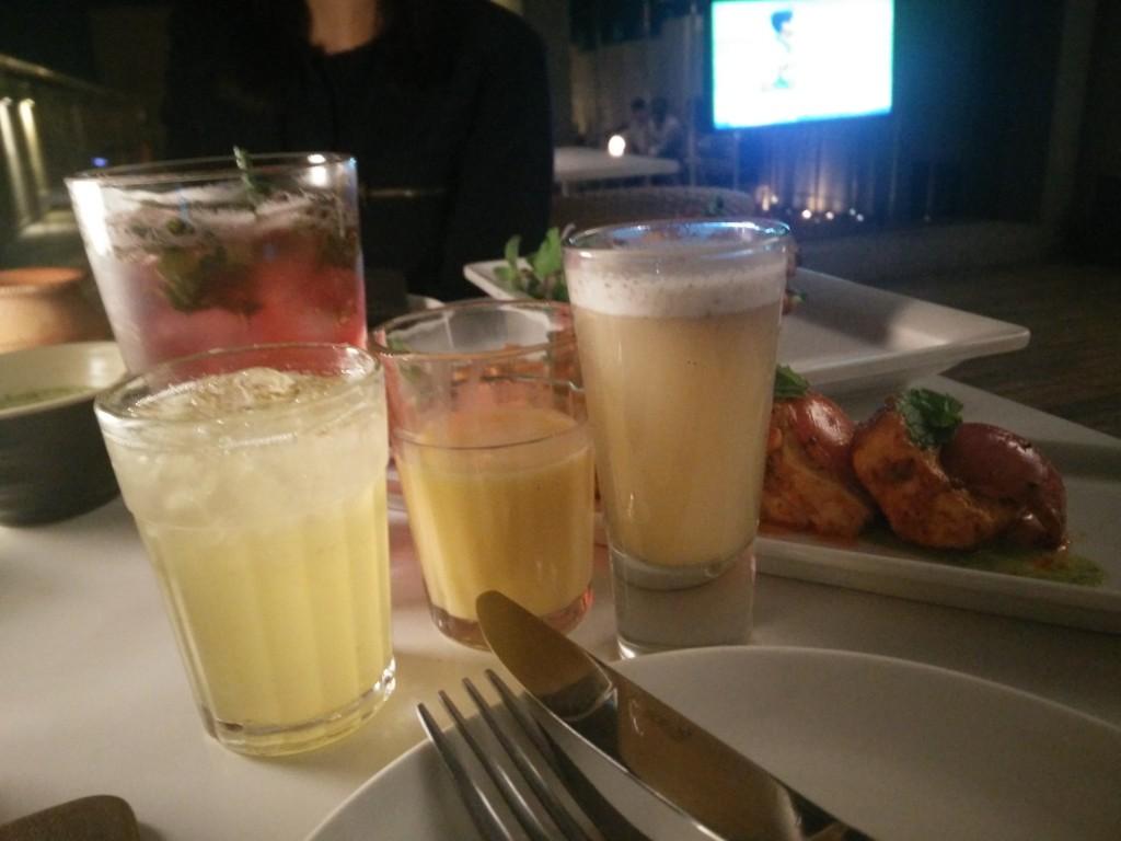 evvia chandni chowk food fest drinks