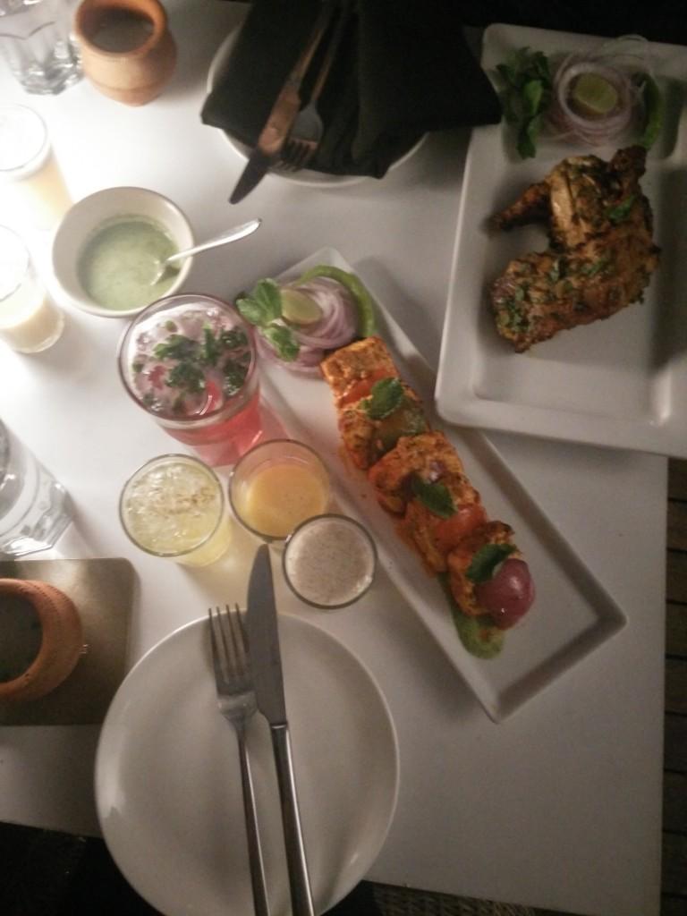 evvia chandni chowk food fest food starters