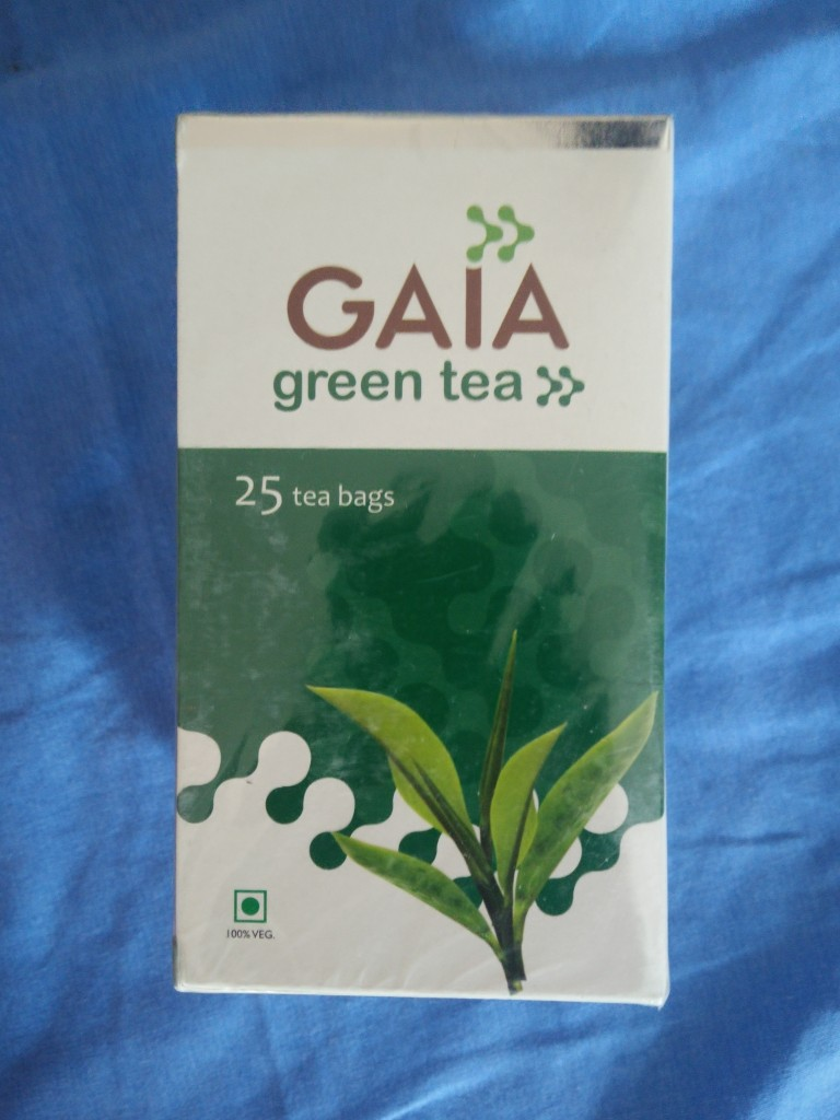 gaia good health green tea