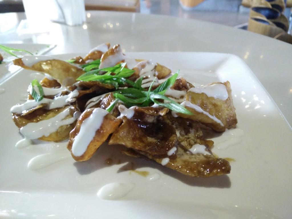 blue frog brunch fried potato chips starters