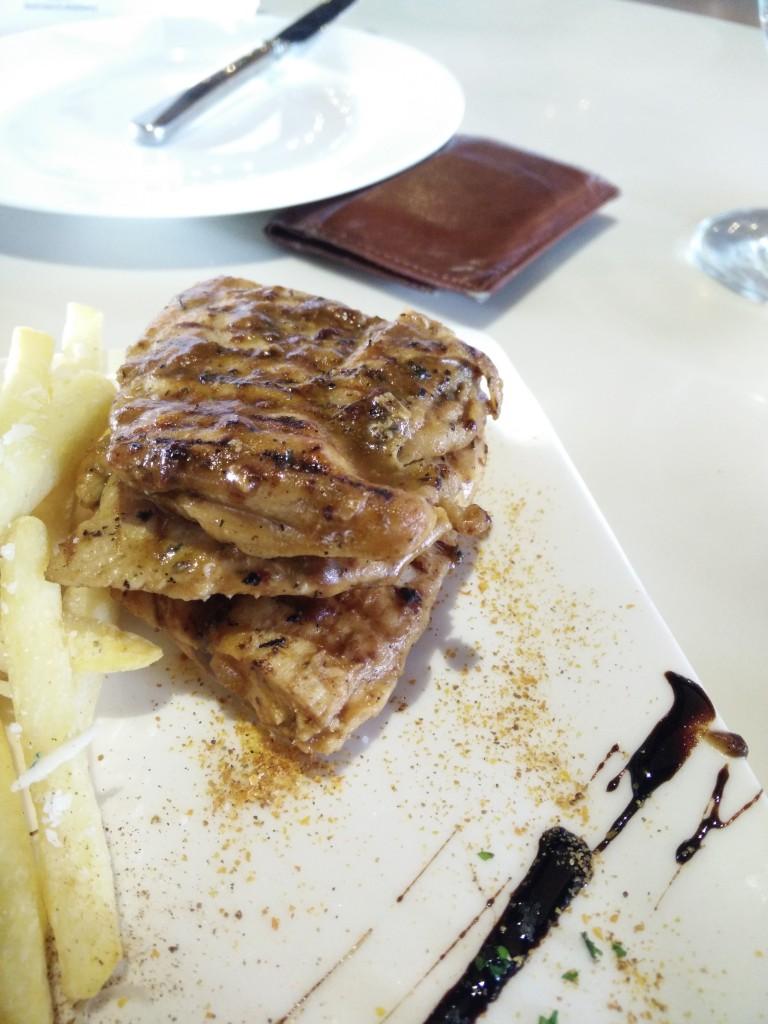 blue frog brunch grilled chicken