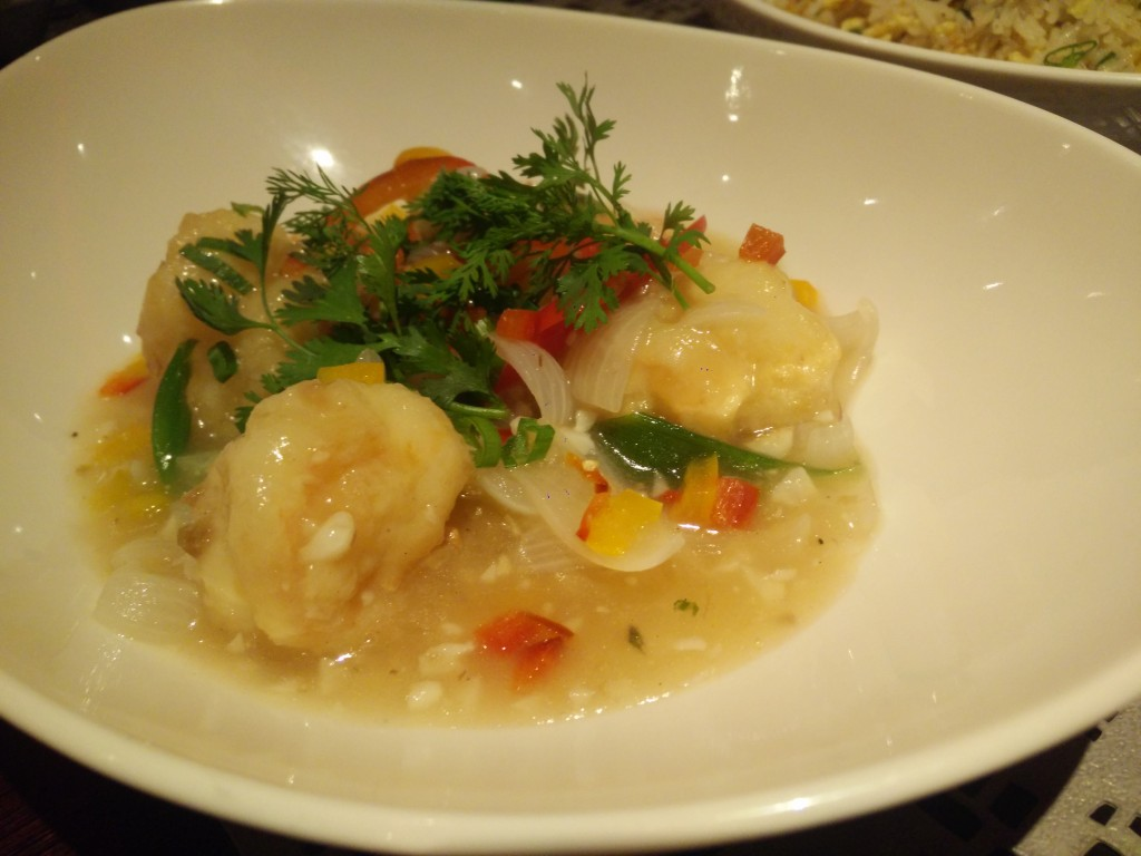 buttergarlic prawns united states of china food fest vivanta by taj.