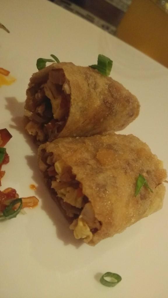 spring rolls veg united states of china food fest vivanta by taj.