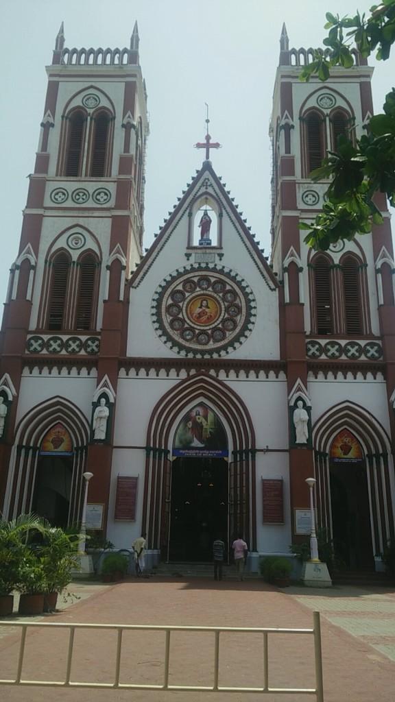 church pondicherry