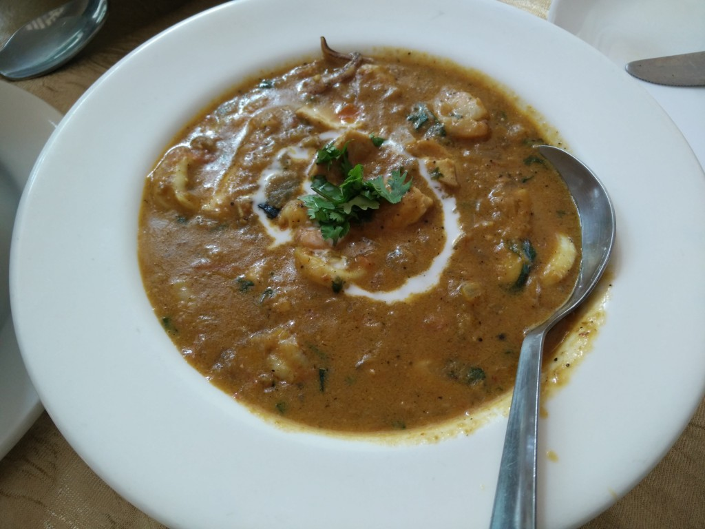 seafood curry carte blanche
